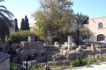 the remains of the temple of Aphrodite